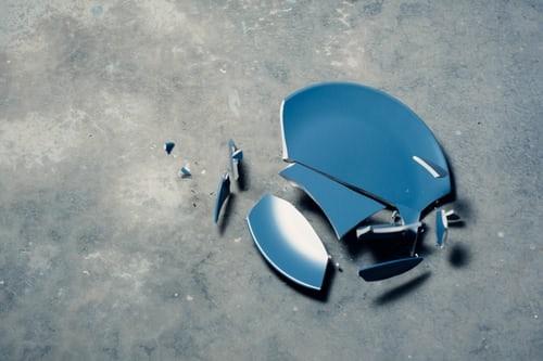 broken plate image