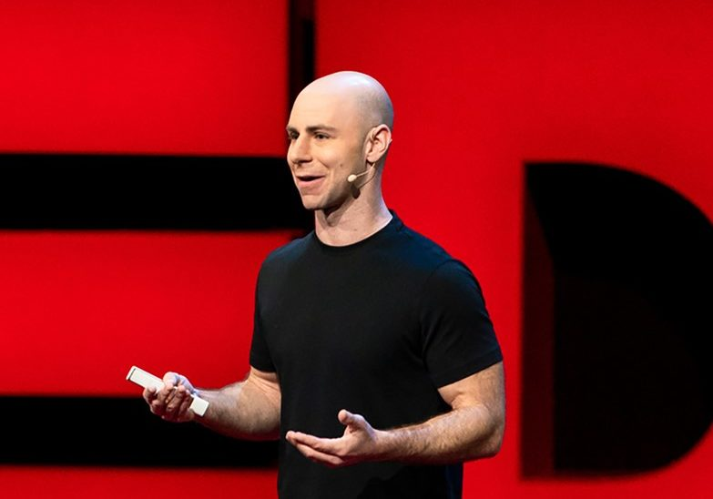 Adam Grant speaks at TED2018 - The Age of Amazement, April 10 - 14, 2018, Vancouver, BC, Canada. Photo: Ryan Lash / TED