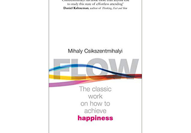 Mihaly Csikszentmihalyi flow COVER